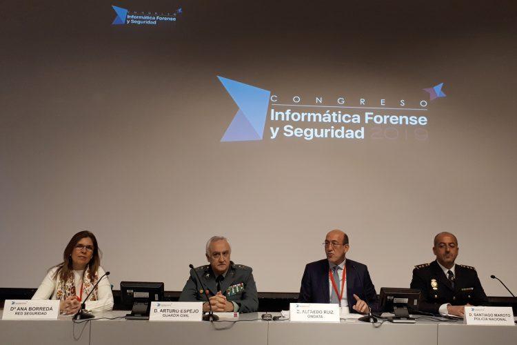 Congreso de Informática Forense y Seguridad.