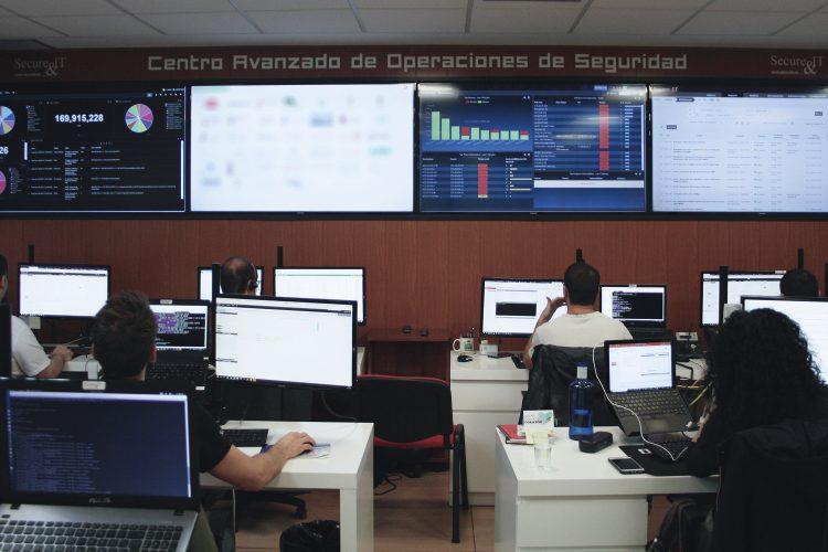 Centro de operaciones de seguridad.