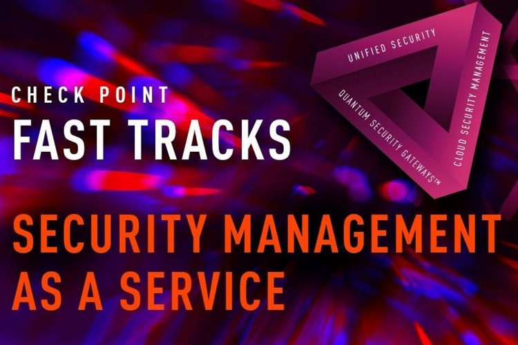 Check Point Security Management As A Service