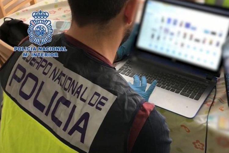 Policía, ciberdelincuente, ciberdelito