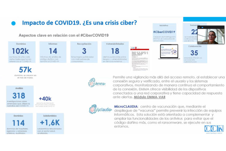 CCN-CERT malware COVID-19