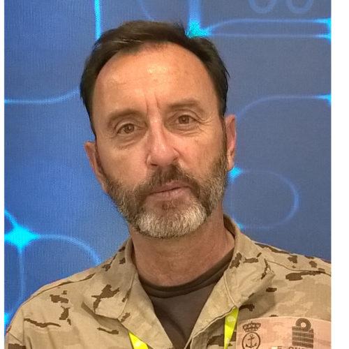 Enrique Cubeiro, jefe del Estado Mayor del Mando Conjunto de Ciberdefensa