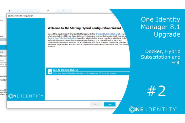 One Identity Manager 8.1