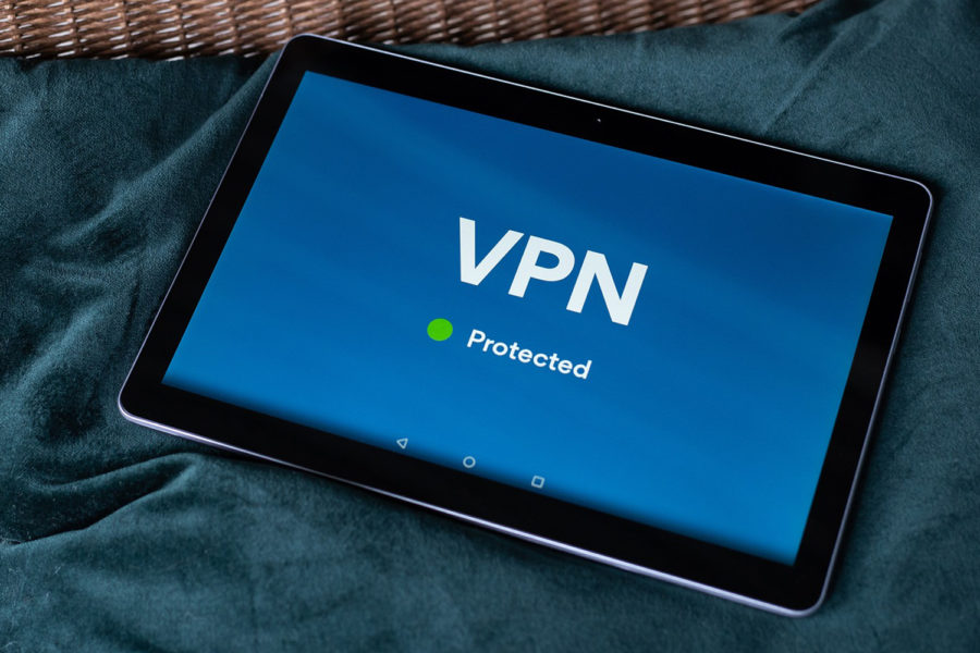 VPN protegida, red privada virtual