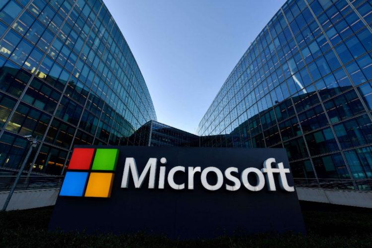 Oficinas Logo Microsoft