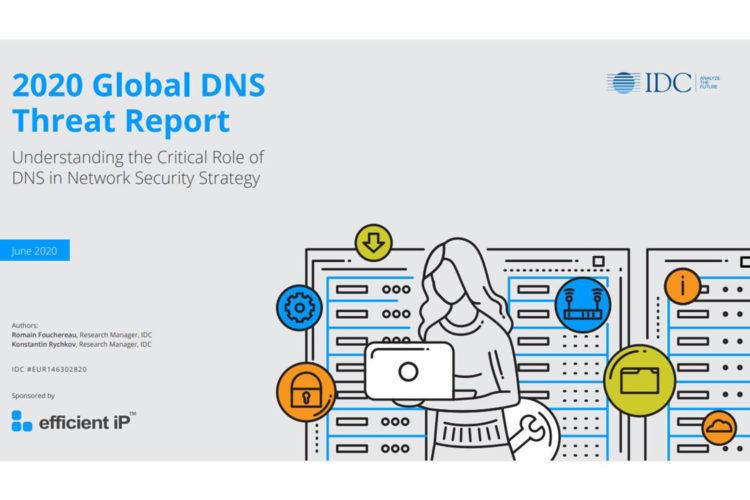 Portada 2020 Global DNS Threat Report IDC