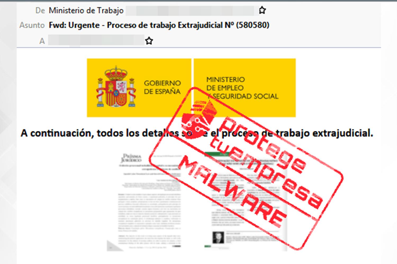 Malware Ministerio de Trabajo