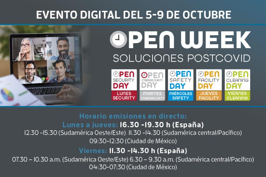 Open Week horario