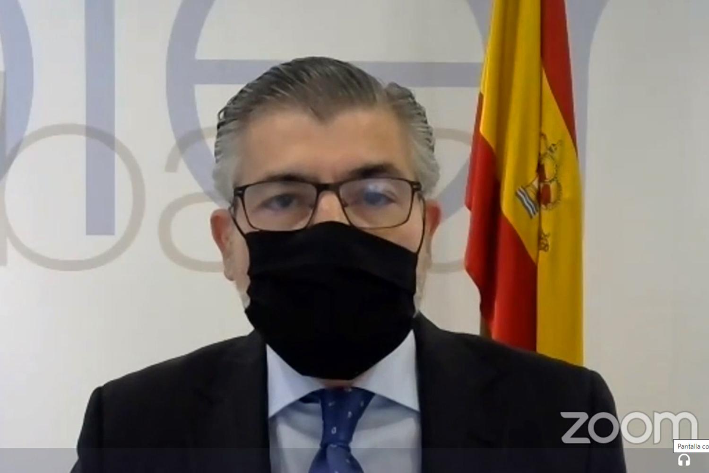 Juan Carlos López Madera, jefe de la Oficina de Coordinación de Ciberseguridad (OCC)
