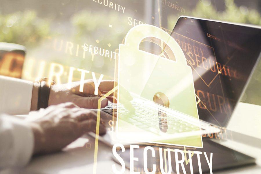ciberseguridad, seguridad, portátil, candado