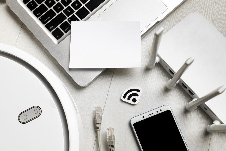Configurar router, seguridad, WiFi