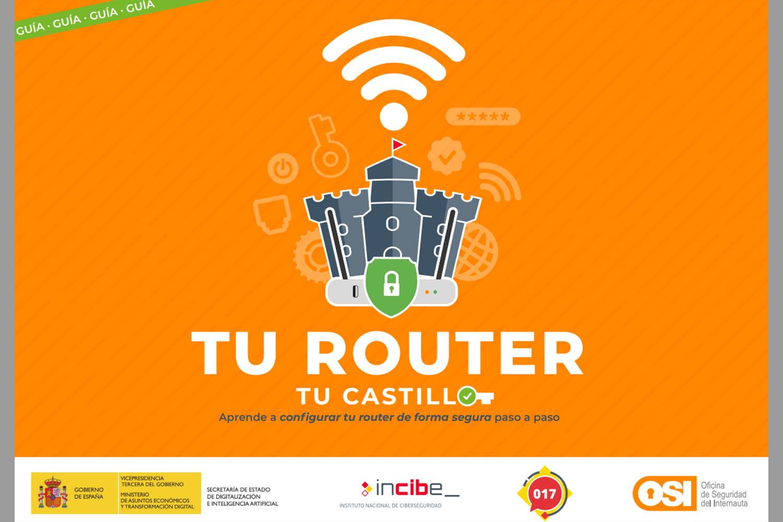 Guía configuración router Incibe