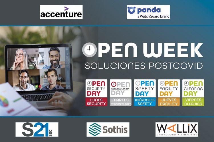 Accenture, Panda, S21sec, Sothis y Wallix. Open Week.