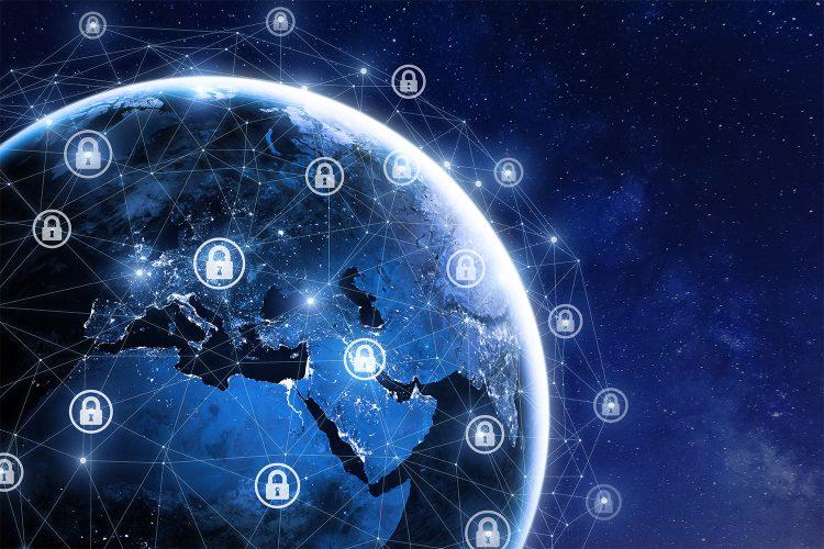 Ciberseguridad de las comunicaciones en todo el planeta.