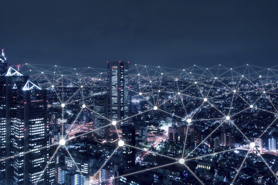 Ciudad, smart city, IoT, conectividad
