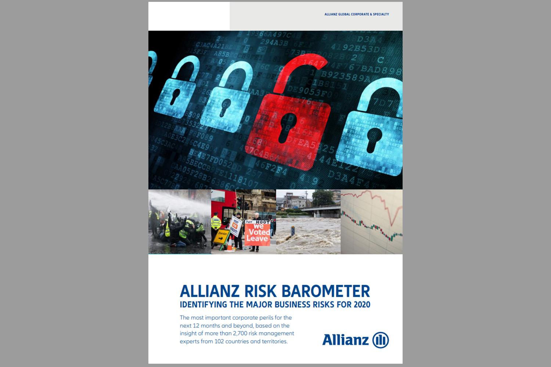 Informe riesgos Allianz ciberataques