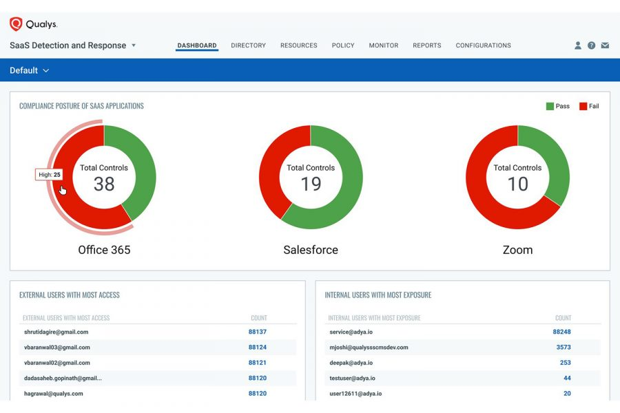 Qualys SaaS Detection and Response (SaaSDR)
