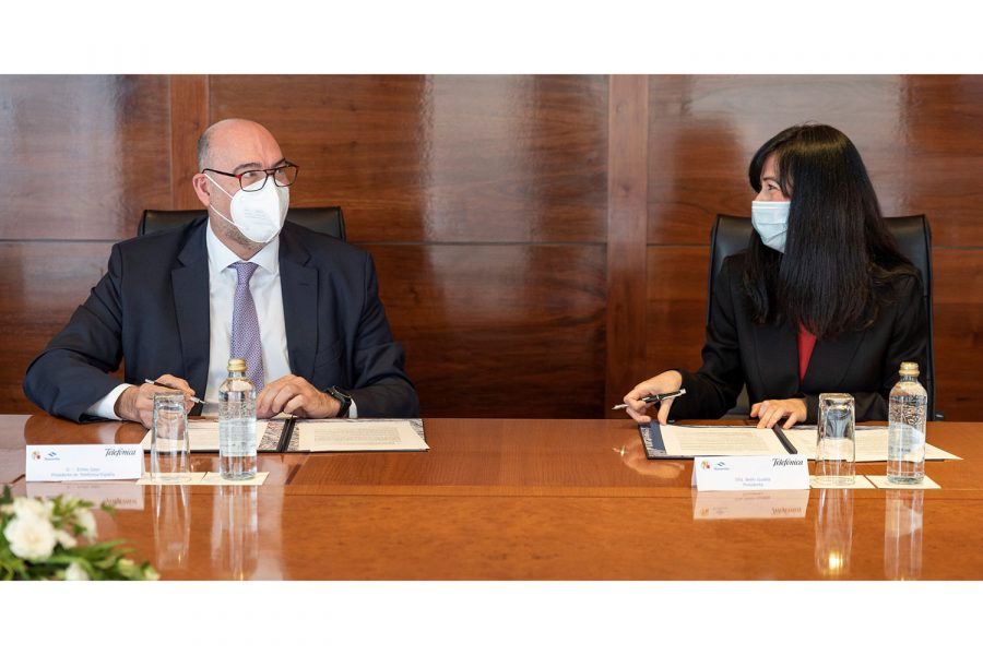 acuerdo Telefonica-Navantia ciberseguridad defensa