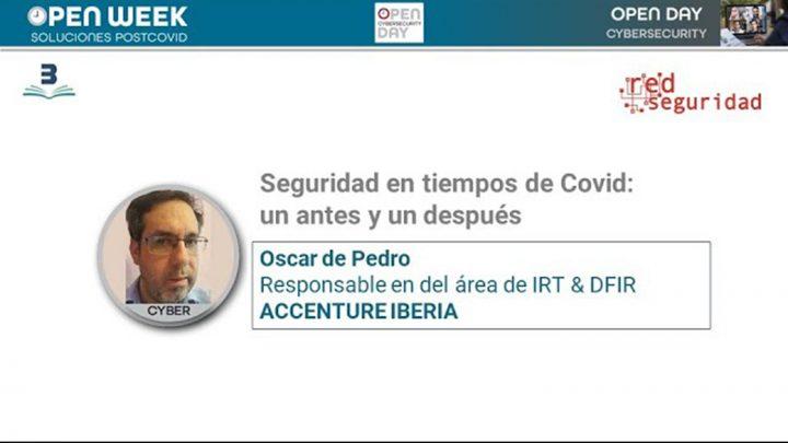 Oscar de Pedro. Accenture. Open week 2020