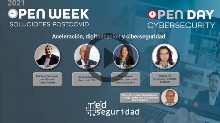 mesa redonda Cybersecurity Open Day ciberseguridad
