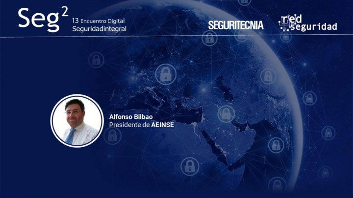 Alfonso Bilbao, presidente de la Asociación Española de Ingenieros de Seguridad (AEINSE).