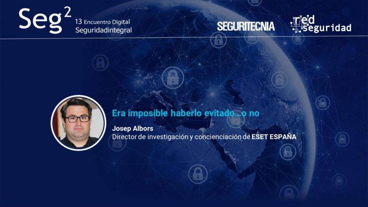 Josep Albors, director de investigación y concienciación deEset España.