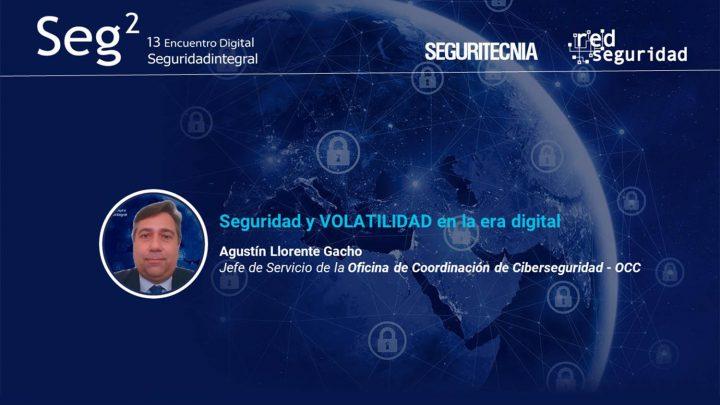 Agustín Llorente Gacho, jefe de Servicio de la Oficina de Coordinación de Ciberseguridad (OCC).