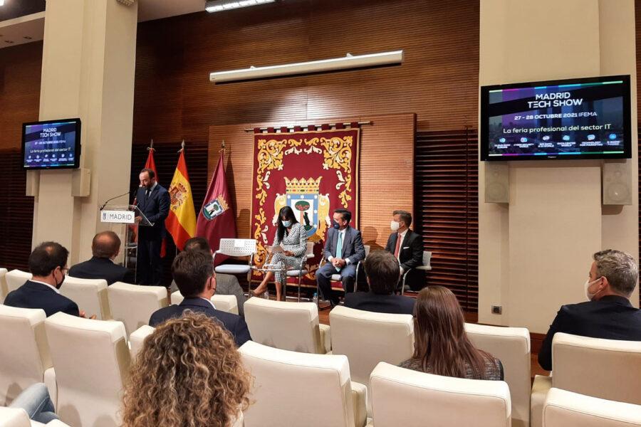 presentación Madrid Tech Show-feria ciberseguridad