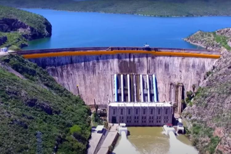 infraestructuras críticas presa de La Boquilla en Chihuahua